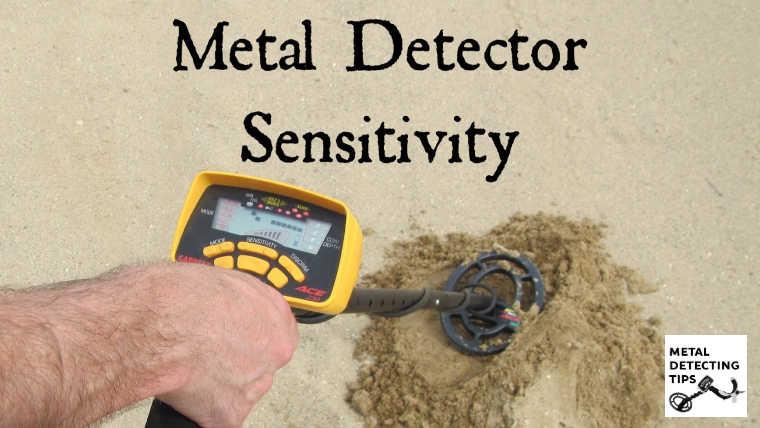 metal detector sensitivity