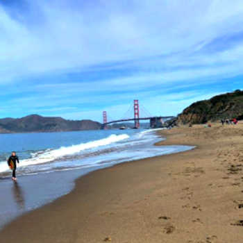Baker Beach California for Metal Detecting