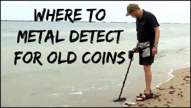 Finding Coins Metal Detecting