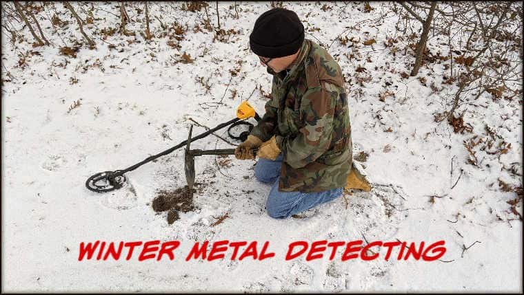 How to Metal Detect in Winter