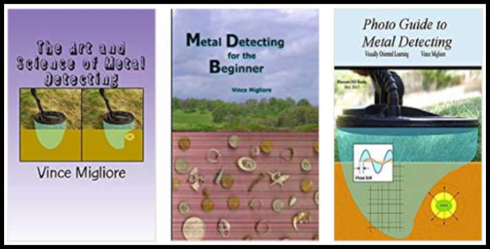 Metal Detecting Books from Vince Migliore
