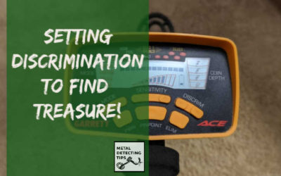 How to Set the Discrimination on a Metal Detector