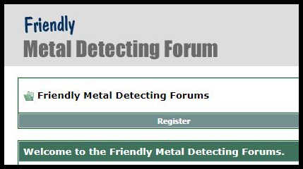 Friendly Metal Detecting Forum