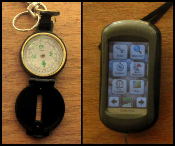 A Compass and GPS for Metal Detecting