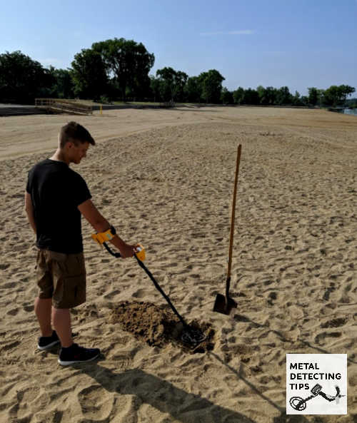 Metal Detecting Beaches of Glen Elder State Park Kansas