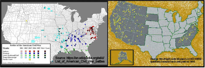 Metal Detecting Civil War and Gold Areas