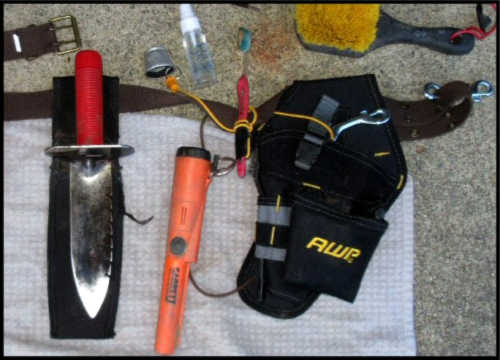 Metal Detecting Gear - Pouch and More
