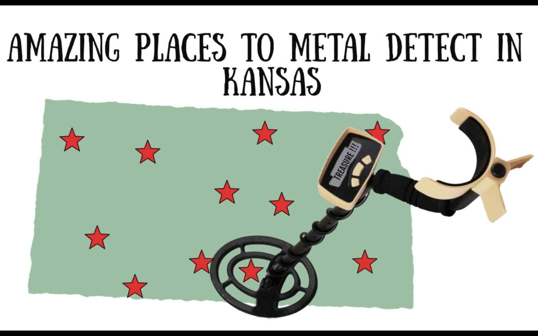 11 Best Places to Metal Detect in Kansas (MAPS INCLUDED)