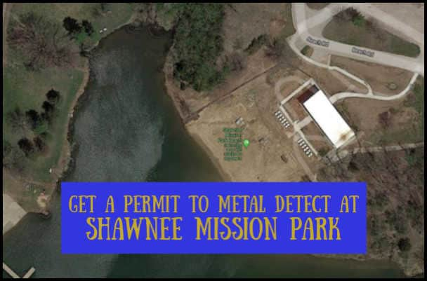Metal detecting at Shawnee Mission Park