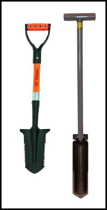 Shovels for Metal Detecting