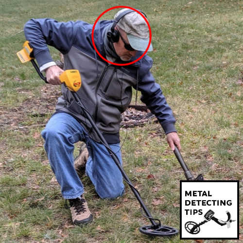 Headphones for Metal Detecting