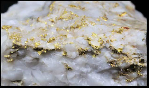Gold Bearing Quartz