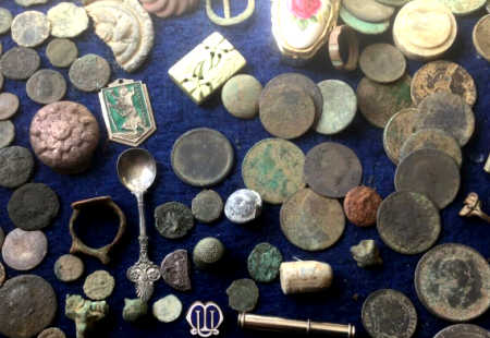 Typically Metal Detecting Finds on Ebay